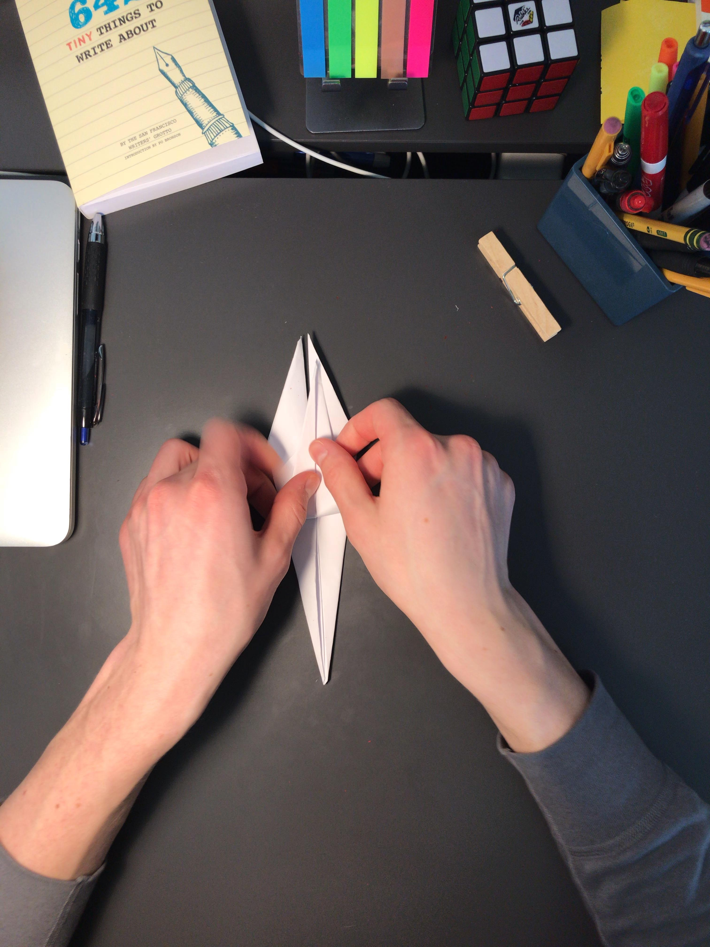 3D Origami Swan | 4032x3024